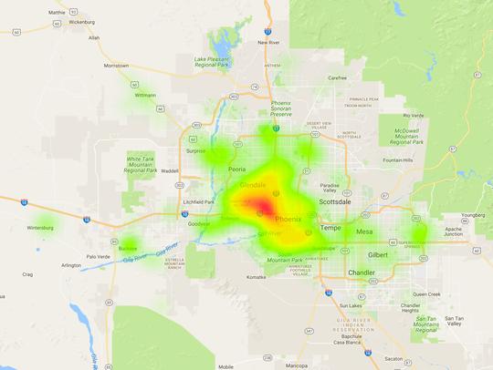 High-poverty neighborhoods in Maricopa County have