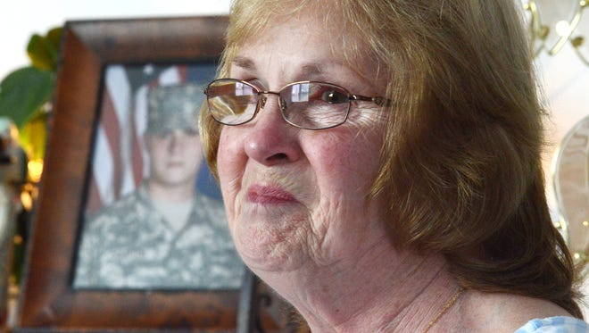Betty Compton talks about her grandson, Kyle, who is deployed overseas and will not be home for Christmas. Kyle Compton is in the U.S. Army, and has been getting packages from Zanesville-based Operation Spirit. His grandmother suggested his unit get packages.