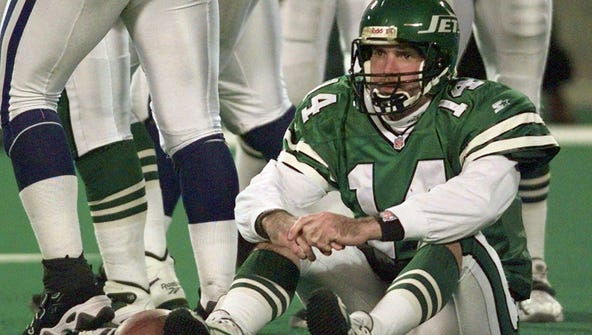When Esiason didn't work out, the Jets poached QB Neil O'Donnell from the Steelers after he led Pittsburgh to Super Bowl XXX in 1995. But the New Jersey native did not reward the Jets despite their five-year, $25 million investment. O'Donnell lost of 12 of 20 starts and was gone by the 1998 season.