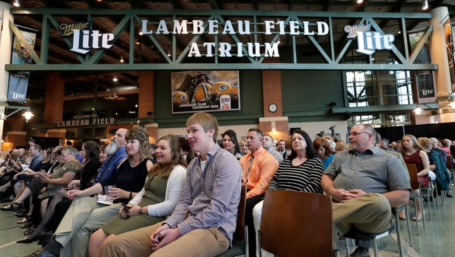 The Lambeau Field Atrium in Green Bay will be the backdrop for the May 11 Wisconsin High School Sports Awards show.