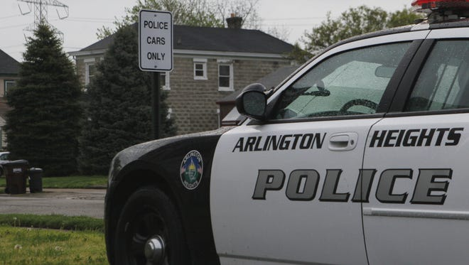 The police department in Arlington Heights has disbanded.