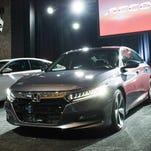 Honda holds global reveal for 2018 Accord in Detroit