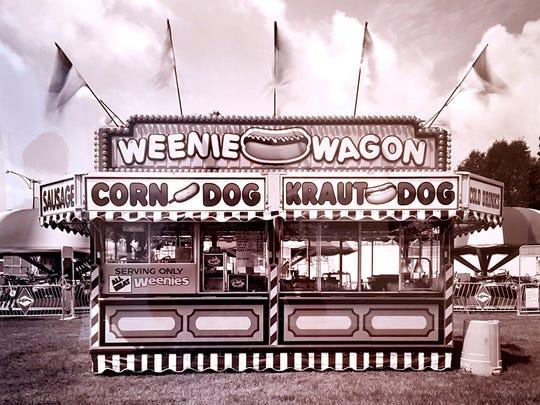 "Carlos Diaz, ""Carnival Midway: Weenie Wagon,"" 2008."