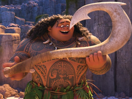 Moana and Maui team up to save the people of Motunui