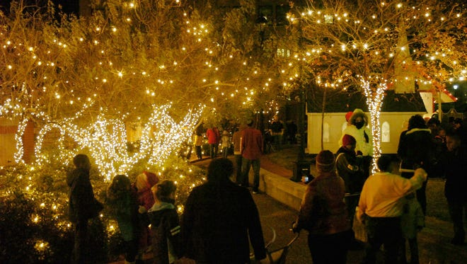 Holiday Magic Downtown, which features turning on the downtown holiday lights and lighting the Christmas tree in the Alexandria mini-park, will kick off the Twelve Nights of Christmas celebration on Dec. 3. That is also the first night of the new Alex Winter Fete.