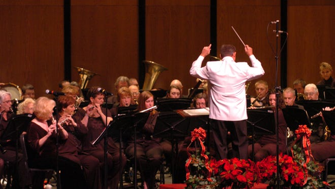 The Lafayette Concert Band.