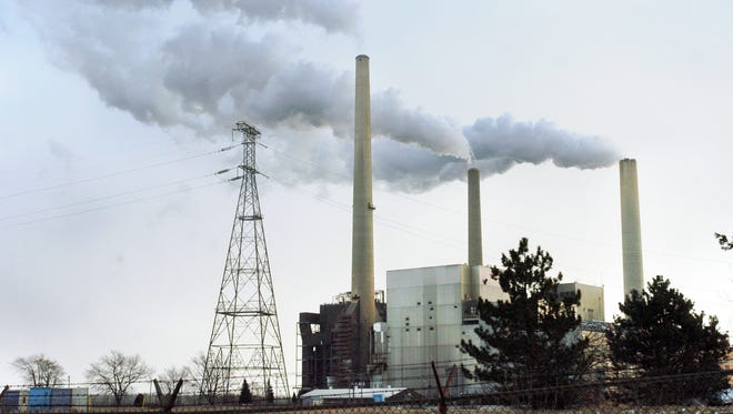 DTE's coal-fired St. Clair Power Plant will close by 2023.
