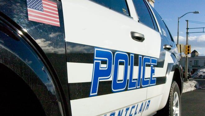 Montclair Police Department squad car.