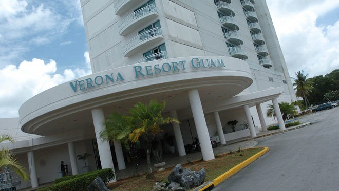 The Verona Resort & Spa in Tumon.