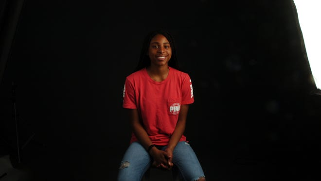Oak Ridge High School's Jada Guinn is the PrepXtra Girls Basketball Sophomore of the Year.