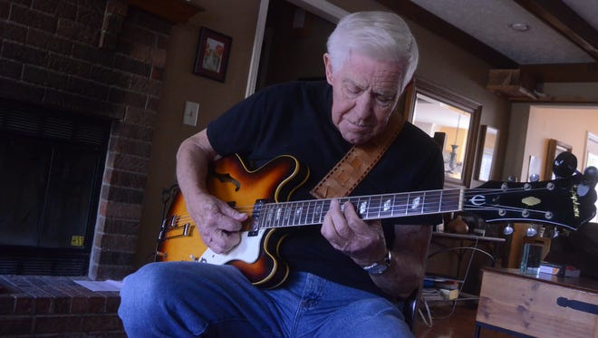 83-year-old Bob Wood has played guitar since he was 6 years old, and has since played alongside celebrities, performed at events, and produced his own albums.