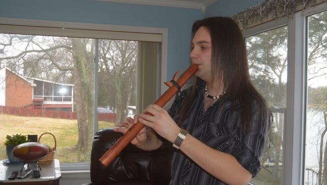 Gallatin native Gareth Laffely has been recognized internationally for his modern style on the Native American flute.