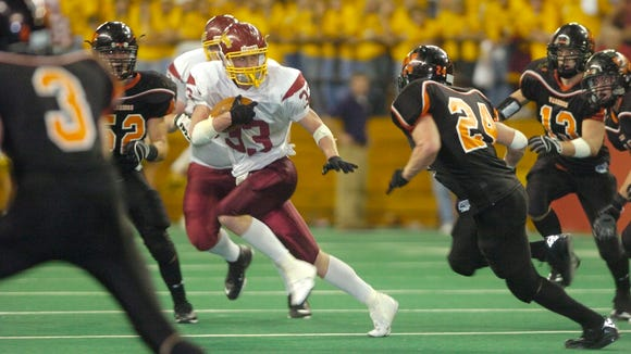 Brock Bills of Roosevelt scored the winning touchdown against Washington in the 2007 state finals.