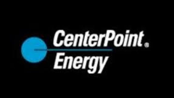 This undated image shows the logo for CenterPoint Energy