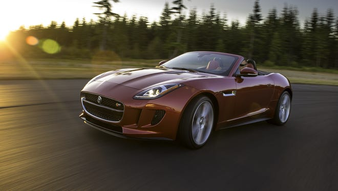The 2014 Jaguar F-Type