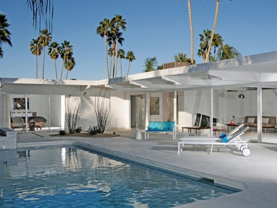 Atomic Ranch is a three-bedroom vacation home in the Palm Springs Deepwell neighborhood, managed by the Acme House Co.