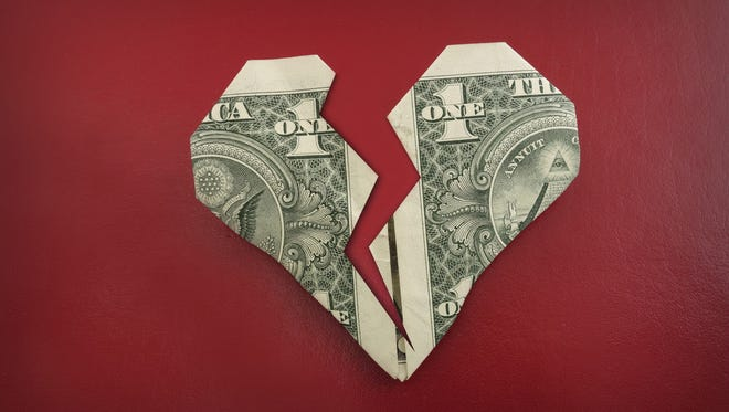 When couples divorce, their family finances are tested.