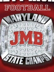 Picture of JMB state championship ring