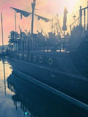 This 55-foot pirate ship was recently purchased by