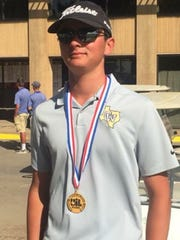 Crowell's Seth Bearden is the Region I-A champion.