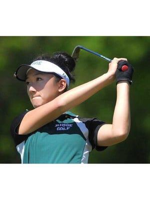 Ridge senior Anina Ku is the Courier News Girls Golfer of the Year.