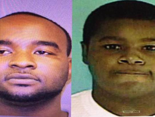 A handout combo image shows suspects Curtis Banks,
