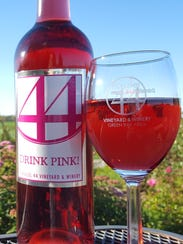 Drink Pink! from Parallel 44 Vineyard & Winery in Kewaunee.