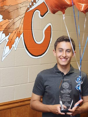 Cherokee student Grant Sokol earns New Jersey Business Student of the Year honors.