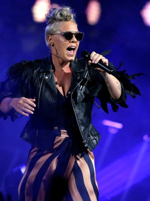 Pink's performance at Summerfest on July 2 was her first North American concert in more than three years. It was the Big Gig's best show.