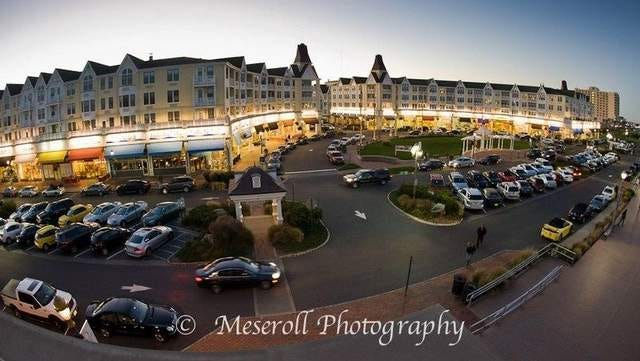 Pier Village, one of Long Branch's resort area shopping centers