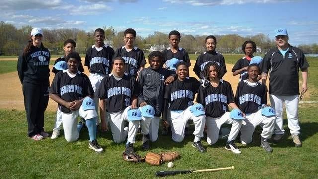 Asbury Park Middle School Baseball Team.