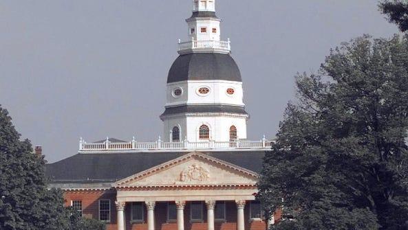 The Maryland Statehouse