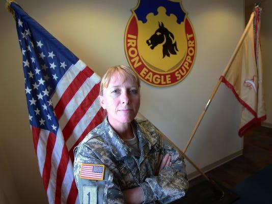 Command Sgt. Major Cain