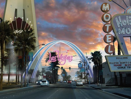 Las Vegas arch