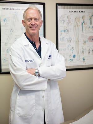 Dr. E. Schuyler DeJong is an orthopedic doctor who also serves as Florida Tech's athletic program physician.