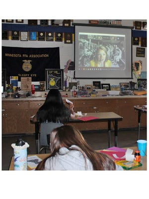 The FFA Tour Day this year was held socially distant and virtually, but members were able to learn from nine different presenters in five different agriculture career pathways.