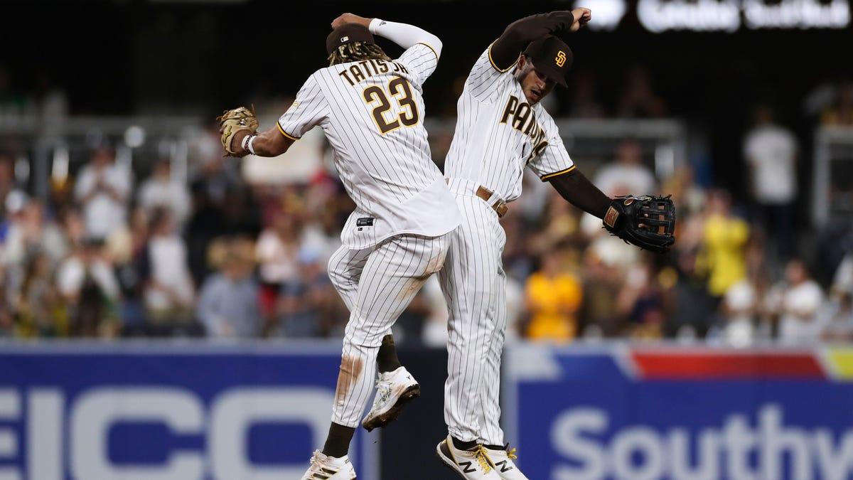 Tatis' monster 2-run homer helps Padres beat Athletics 7-4