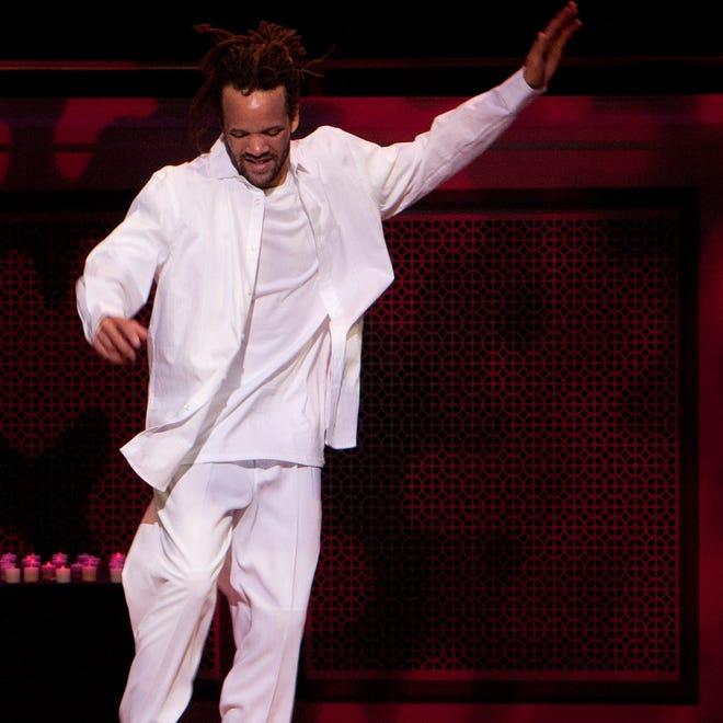 Savion Glover will perform Oct. 10, 2014, at the Madame Walker Theatre Center.