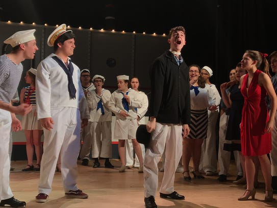 "Clarkstown South High School presents ""Anything Goes"";"