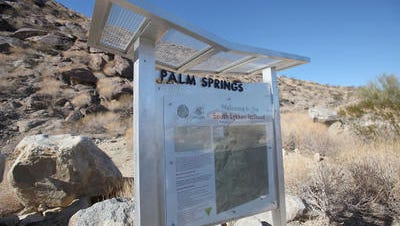 A boy got lost on the South Lykken Trail in Palm Springs Sunday.