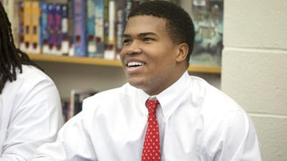 St. Xavier LB Justin Hilliard - rated the area's top player in the 2015 class - signed with Ohio State in February.