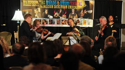 The American String Quartet performs at Fairleigh Dickinson's WAMfest.