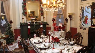 The public can tour homes in the East Row of Newport next weekend for the annual Victorian Christmas tour.