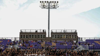 Scottsdale Prep is hoping to have a new football  stadium to play next season in DC Ranch. Notre Dame's new stadium has come under the glare of a community concerned with lights spilling over into the neighborhood