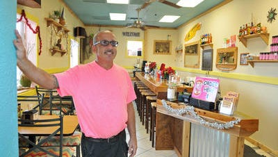 Jay Josephs, owner of Rolli Porkloin Extraordinaire, recently expanded into a new location in Melbourne, 31 E. New Haven Ave.