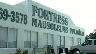 Fortress Mausoleums in Gautier, Miss.