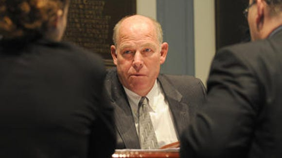 House Speaker Pete Schwartzkopf, D-Rehoboth, is opposing Gov. Jack Markell's proposal to increase the gas tax to pay for roadway improvements.