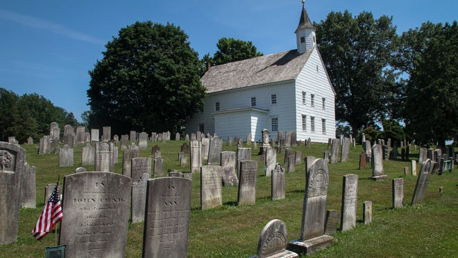 Old Tennent Church, 448 Tennent Road, Manalapan