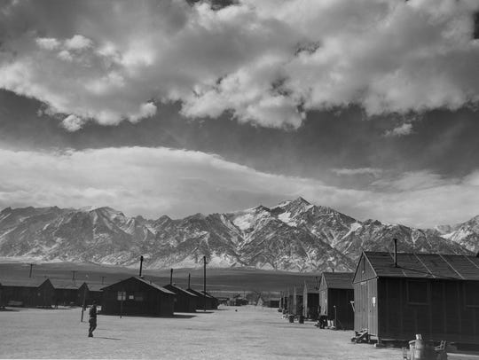 The Manzanar Relocation Center was built after President