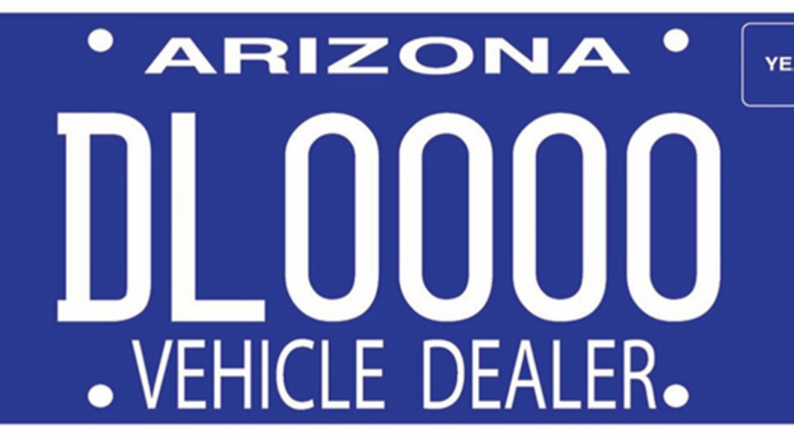 New Plates For Car In Az
